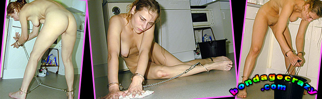 gina lorenz doing naked housework